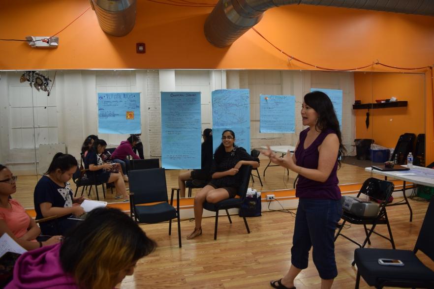 Myers_DAWN Workshop6_August 5 2015_Courtesy of Aishika Jennela and Devisha Walia